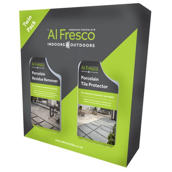 A10082 Al Fresco Porcelain Protector & Residue Remover Care Kit