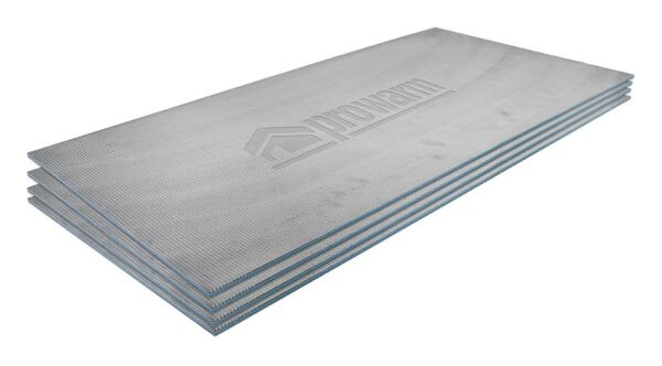 ProWarm Backer-Pro 600x1200x6mm Tile Backer Board