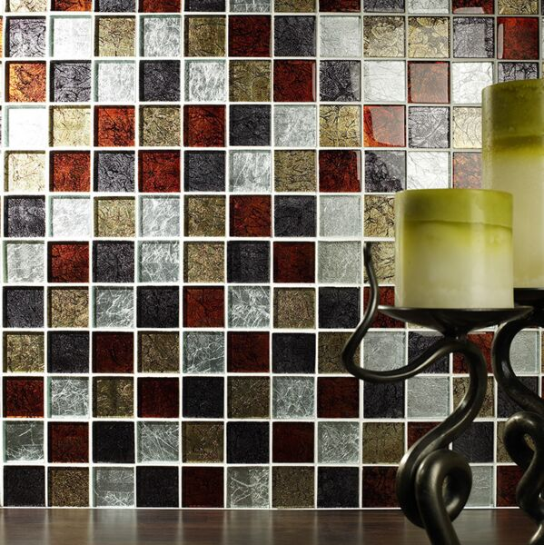 Shanghai Mix Glass Mosaic 48x48mm