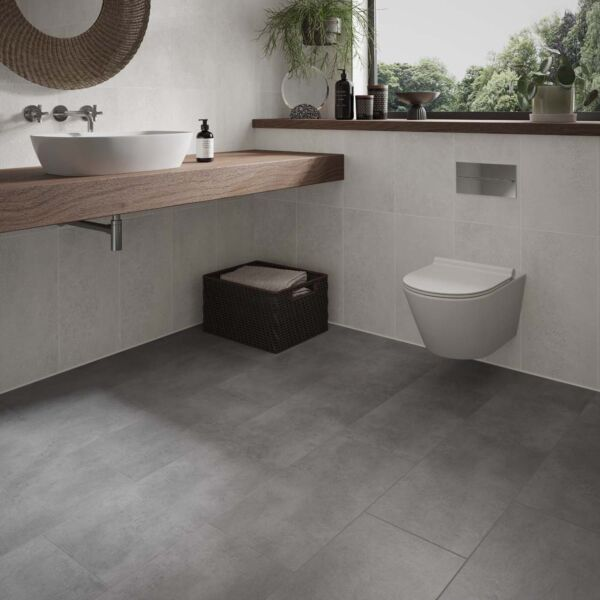 L10013 - ClickLux Pinnacle Concrete Grey SPC Flooring