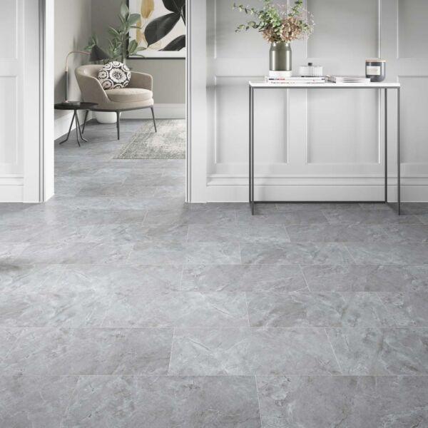 L10021 - ClickLux Bowfell Stone Grey SPC Flooring