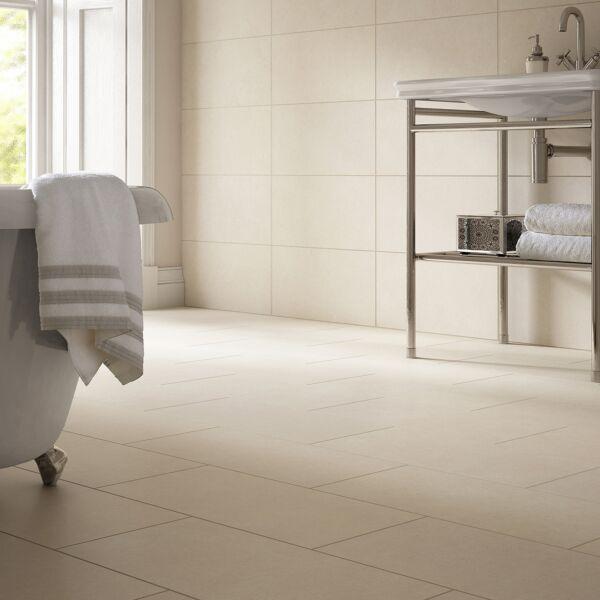 Evol Bianco Grip Rettm. Anti Slip Porcelain W&F 600x300mm