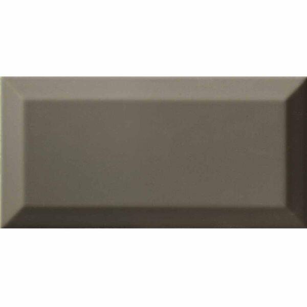 Metro Dark Grey Ceramic Wall Tile 100x200mm