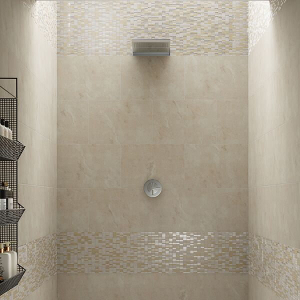 Aspect Ivory Glazed Porcelain W&F 580x400mm