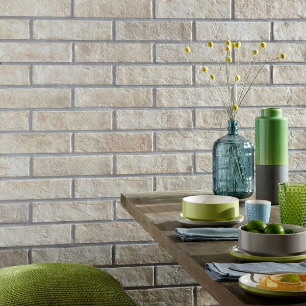 Brick Sand Glazed Porcelain W&F 310x74mm - Reclaimed Brick Slips
