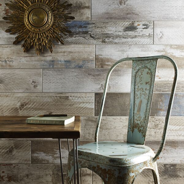 Mercia Reclaimed Wood Glazed Porcelain (Elite Wood) W&F 600x150mm