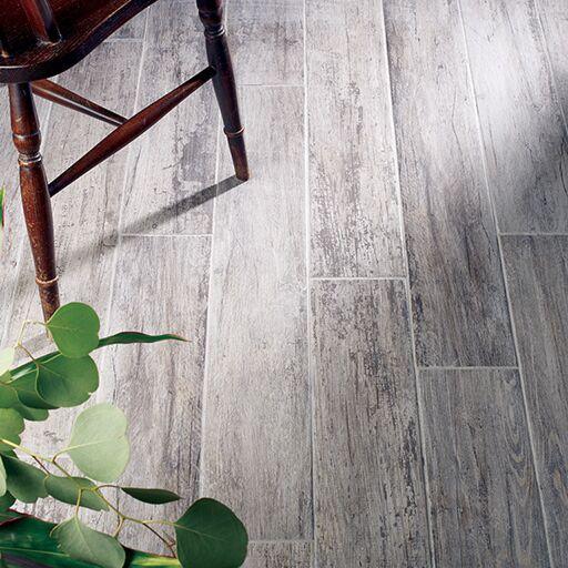 Kielder Dark Grey Glazed Porcelain W&F 150x900mm