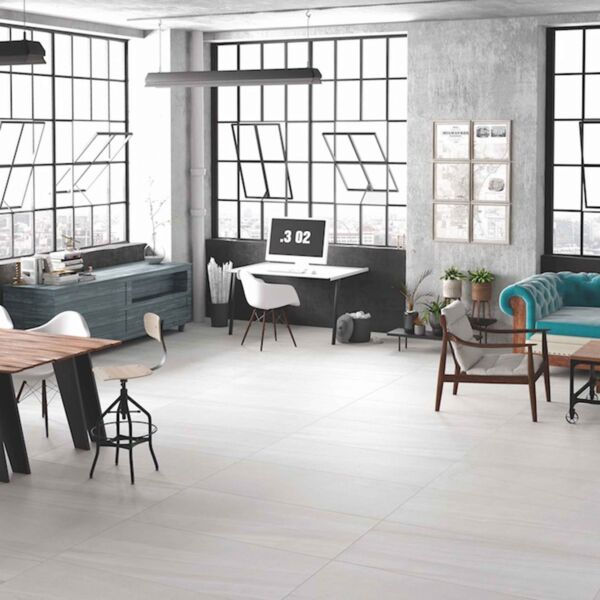 Burlington White Glazed Porcelain 600x1200mm