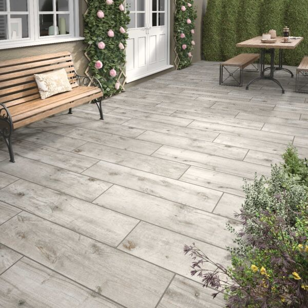 P10691 Kenwood Ash Matt Glazed Porcelain 300x1200x20mm