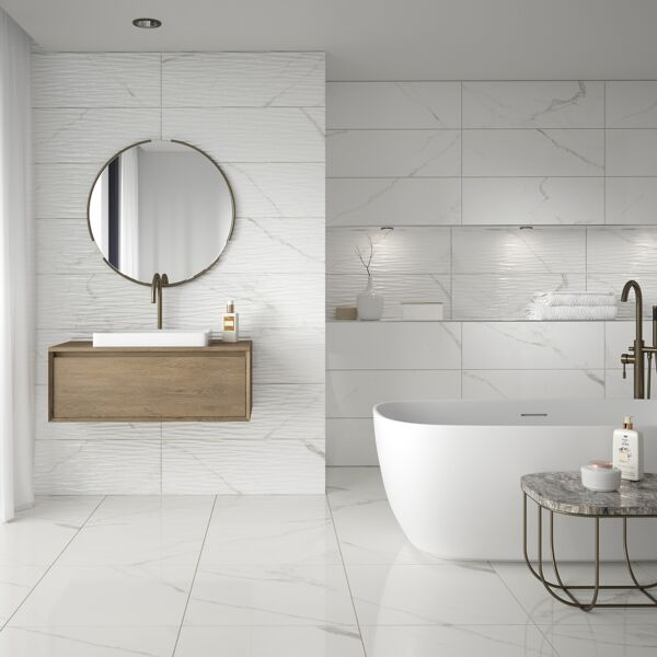 Serenity Gloss Ceramic Wall 300x900mm