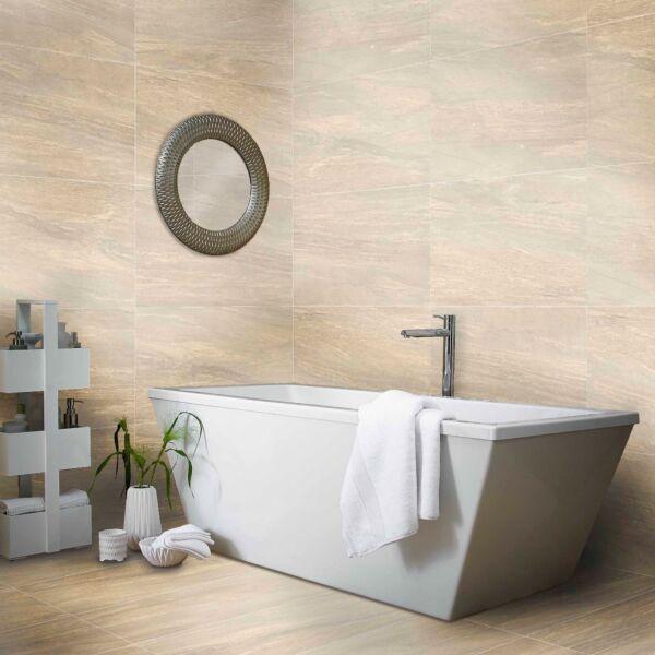 Valmalenco Beige Glazed Matt Porcelain W&F 450X900mm