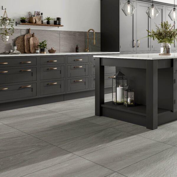 Valmalenco Grey Glazed Matt Porcelain W&F 450x900mm