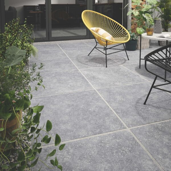 P10828 Belton Anthracite Matt Glazed Porcelain 600x600x20mm