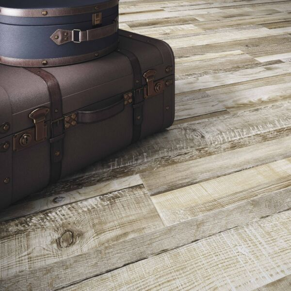 Darwin Natural Glazed Porcelain Wood Effect W&F 200x1140mm