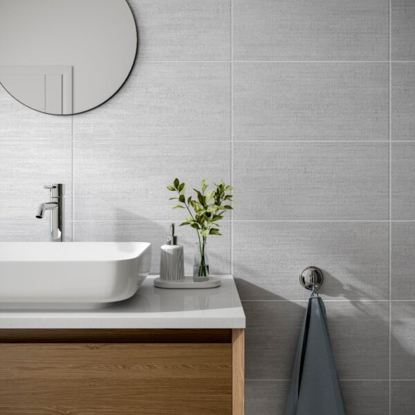Brecon Grey Matt 250x500mm Ceramic Wall Tile