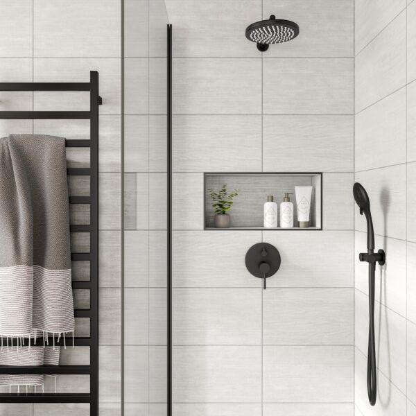 Brecon White Matt 250x500mm Ceramic Wall Tile