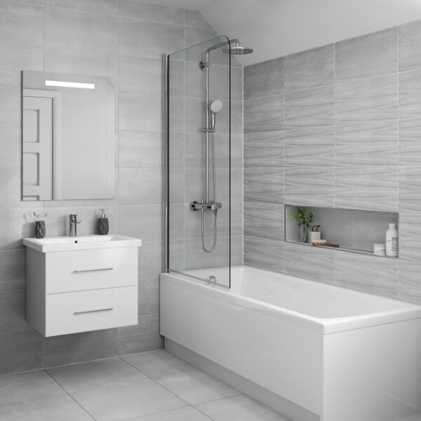Tresco Grey Matt 500x500mm Porcelain Wall & Floor Tile