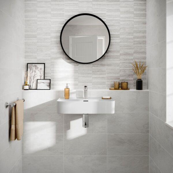 Blakeley White Matt 250x500mm Ceramic Wall Tile