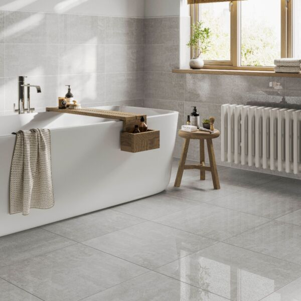Fistral Clay Glazed Porcelain Wall & Floor Tile 300x600mm & 600x600mm