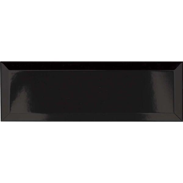 P11559 Metro Black Ceramic Wall Tile 100x300mm