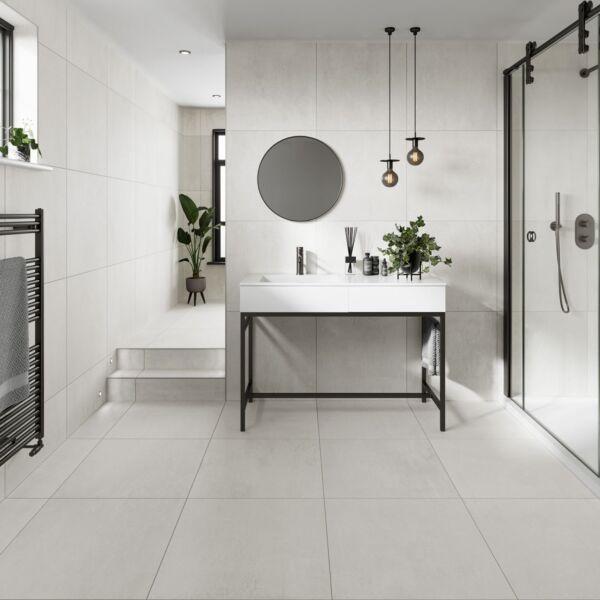 P11680 Loft White Glazed Porcelain W&F 600x600mm