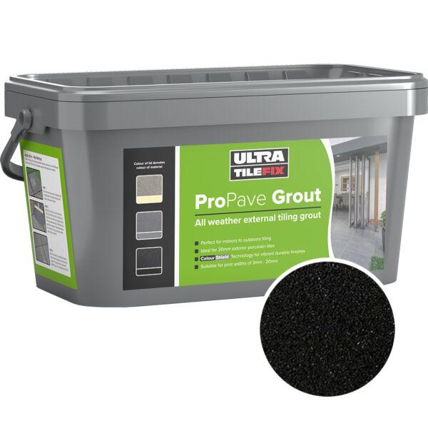 A10201 Instarmac Pro Pave Grout Black 15kg