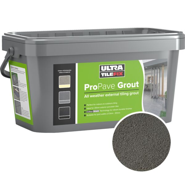 A10203 Instarmac Pro Pave Grout Grey 15kg