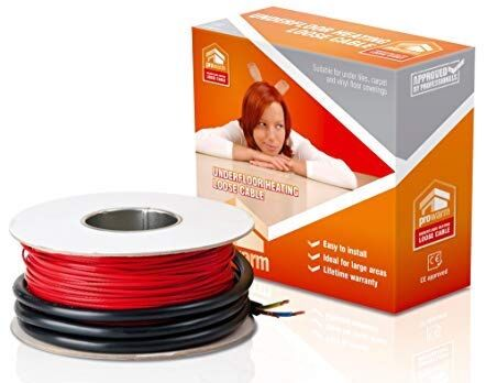 ProWarm Cable 125m - Covers 8.3m2 @ 65mm Spacing - 150w per m2