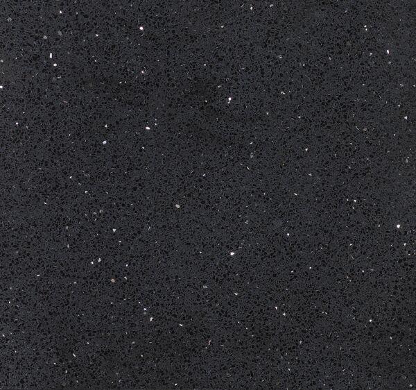 Starlight Black Polished Quartz W&F 600x600mm