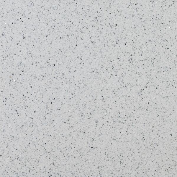 Starlight White Polished Quartz W&F 300x300mm