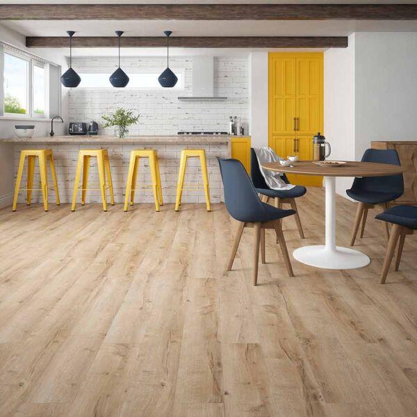 WR1005 - Camille Natural Oak Plank Laminate Flooring