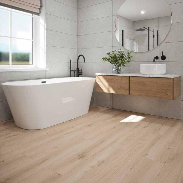 WR1006 - Talise Sandy Oak Plank Laminate Flooring