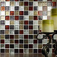 Shanghai Mix Glass Mosaic 48x48mm