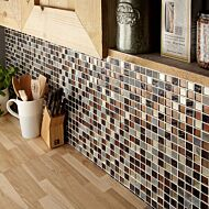 Cascade Glass & Stone Mix Mosaic 25x25mm