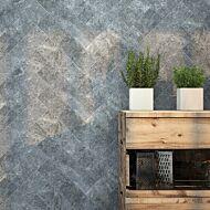 Organic Hudson Nero Ceramic Wall 100x400mm