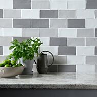 Handmade Grigio Ceramic Wall 75x150mm