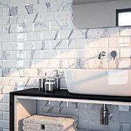 Calacatta Gris Ceramic Wall Tile 100x200mm