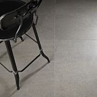 Art Rock Anthracite Glazed Porcelain W&F 600x600mm
