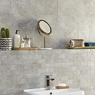 Valley Grey Mix Brick Mosaic 96x47mm
