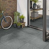 P10662 Westbury Grey Matt Glazed Porcelain 600x600x20mm & P10663 Westbury Grey Matt Glazed Porcelain 600x600x10mm