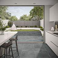 P10816 Tatton Grey Matt Glazed Porcelain 600x600x10mm