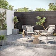 Claremont Grey Matt Porcelain Floor Tiles 600x600x20mm