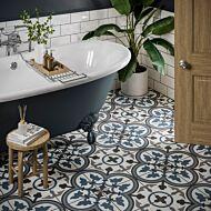 Sorolla Patterned Glazed Ceramic Wall & Floor Tile 250x250mm