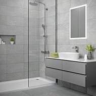 Ingleton Grey Matt 250x500mm Ceramic Wall Tile