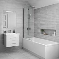Tresco Grey Matt 250x500mm Ceramic Wall Tile