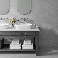 Kynance Grey Matt 500x500mm Porcelain Wall & Floor Tile
