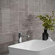 Pallington Dark Grey Gloss 250x500mm Ceramic Wall Tile