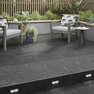 P11194 Chatsworth Dark Grey Tile 600x600x20mm