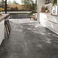 P11444 Loft Grey Matt Glazed Porcelain Tile 900x900mm