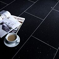 Starlight Black Polished Quartz W&F 600x300mm